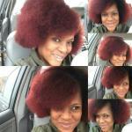 my red hairdo - davida jan 2019