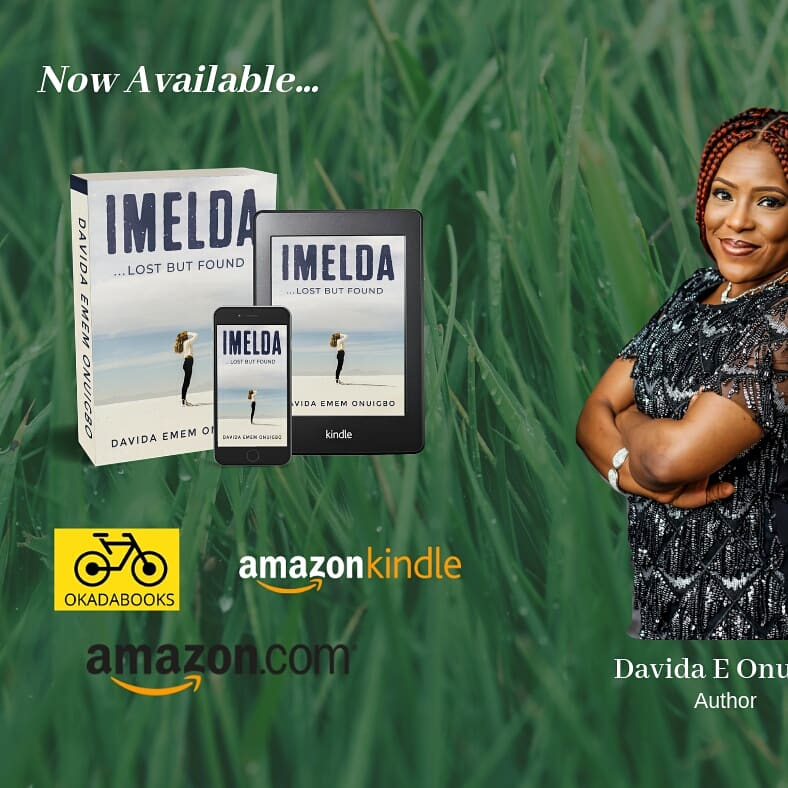 My published work - A book titled 'Imelda'